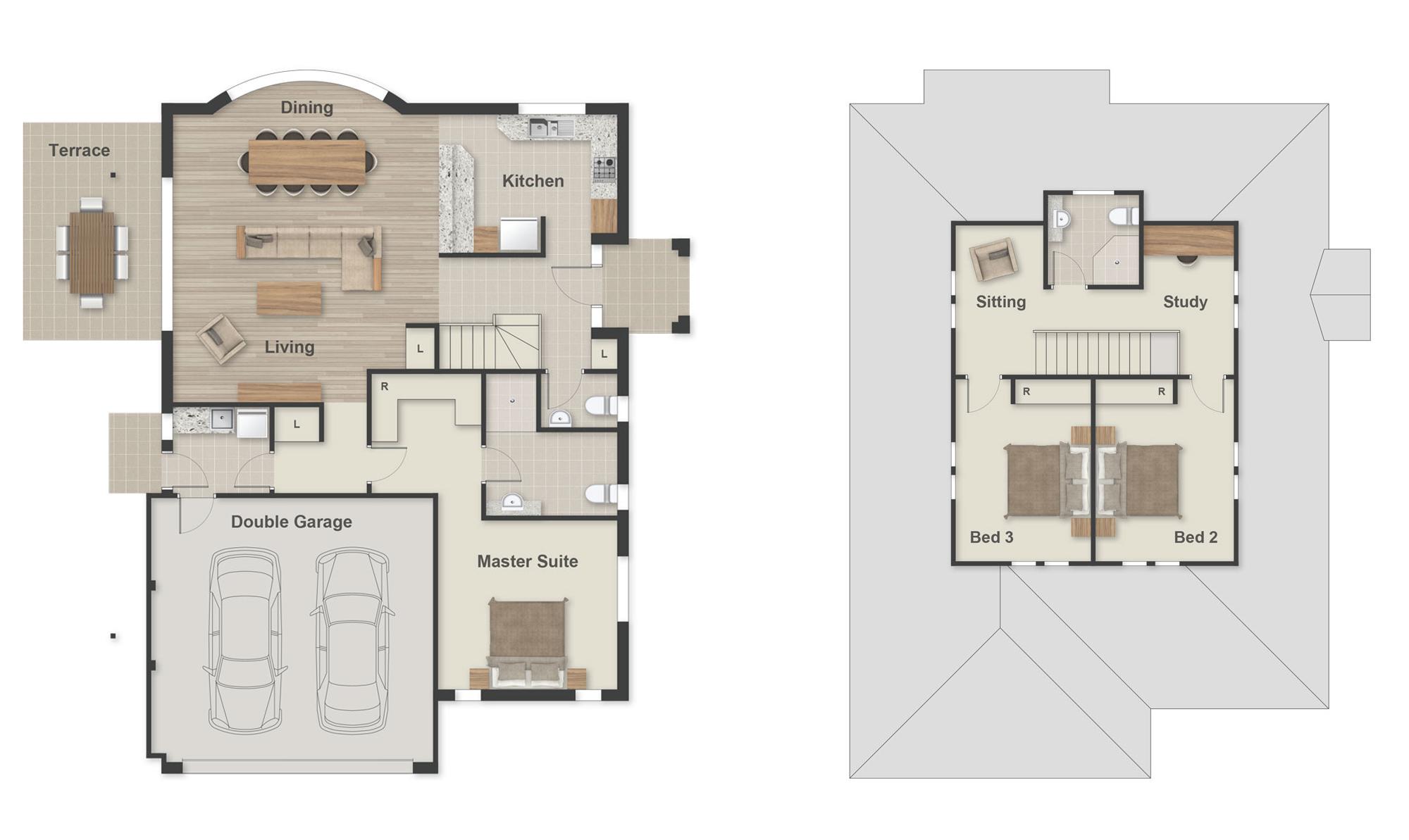 Leura Floorplan