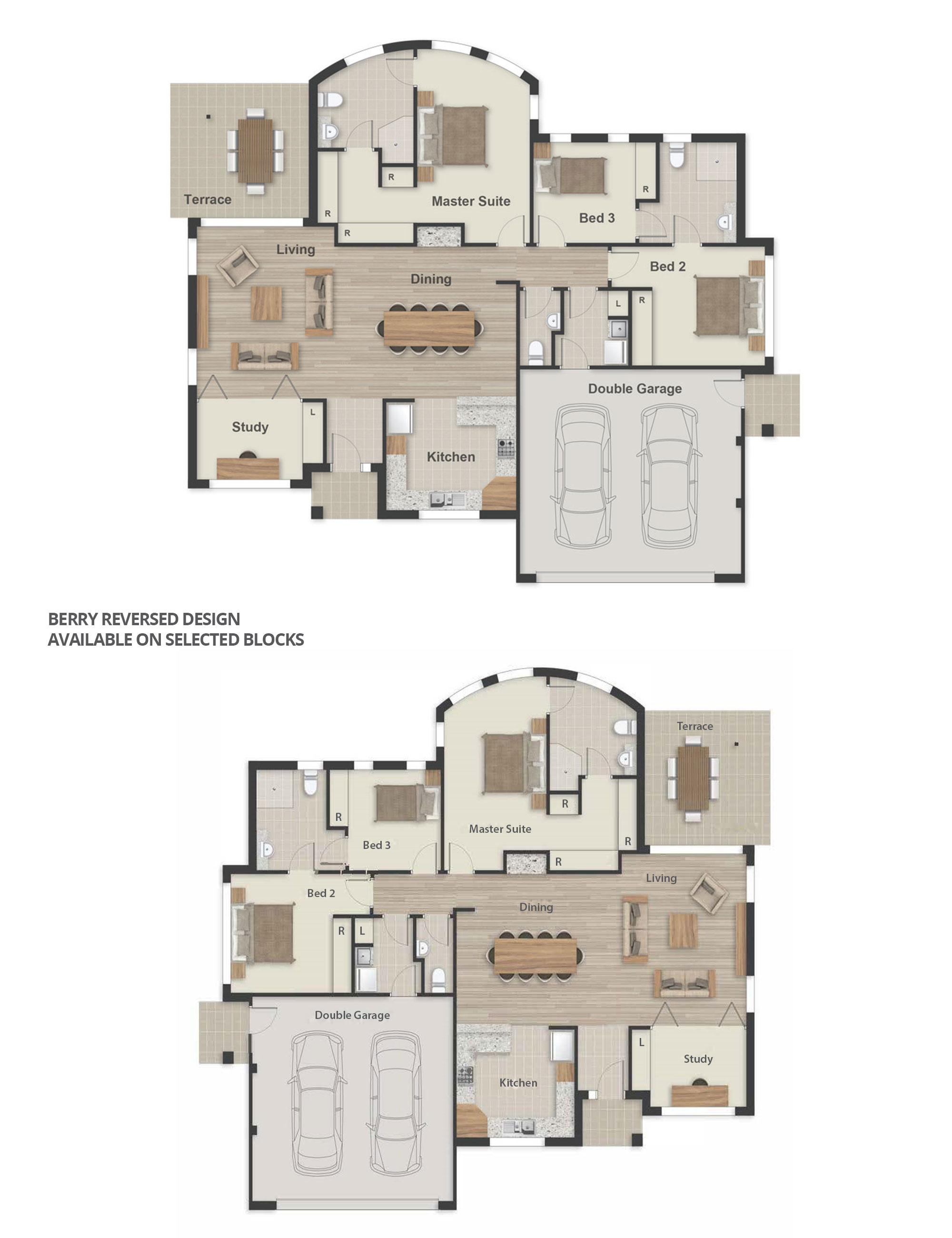 Berry Floorplan